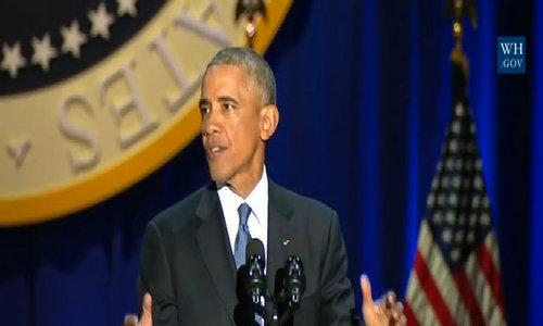 Race remains divisive force in society: Obama