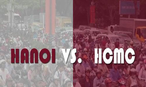 Congestion: Hanoi vs. Ho Chi Minh City