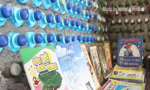 Hanoi has a library built from 8,800 plastic bottles