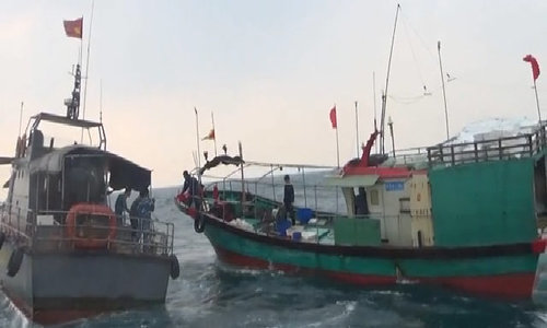 Vietnam chases away Chinese for illegal fishing