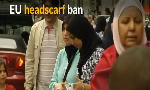 EU's top court rules against headscarf