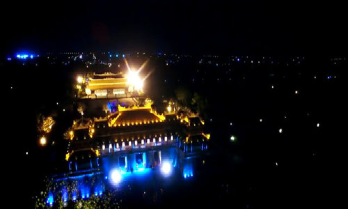 Hue's Imperial City glows in new video