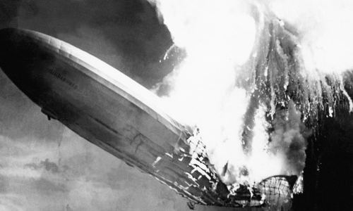 An animation of the Hindenburg disaster, 80 years on