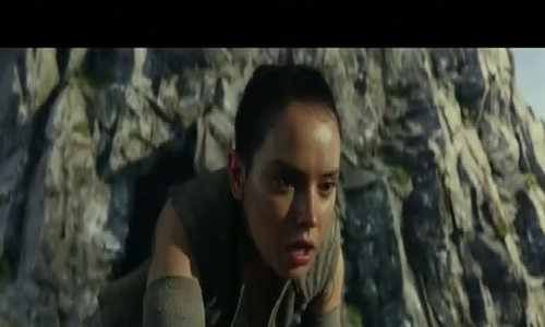 First trailer released for 'Star Wars: The Last Jedi'
