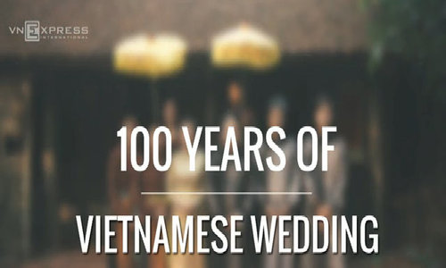 Happily ever after in Vietnam: 100 years of wedding fashion