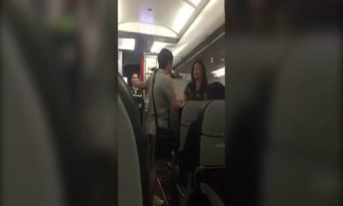 Woman picks up fight on VietJet flight