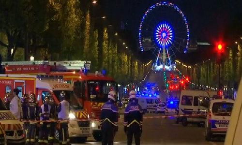 Eyewitness to Paris shooting describes hiding in shop