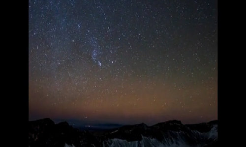 Geminids meteor shower lights up China sky