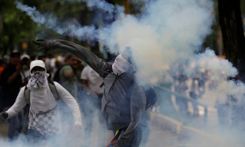 'Mother of all marches' turns deadly in Venezuela