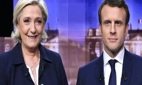 French presidential rivals clash in crucial TV debate