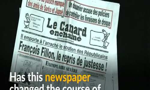 The newspaper that may have changed the course of France's election