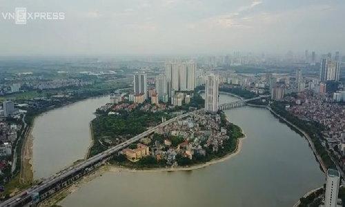 Hanoi peninsula shows off success of urban development