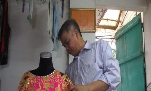 Outside Hanoi, a village of dressmakers