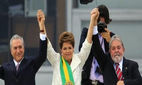 Brazil plea-bargain testimony says president took .6 mln in bribes