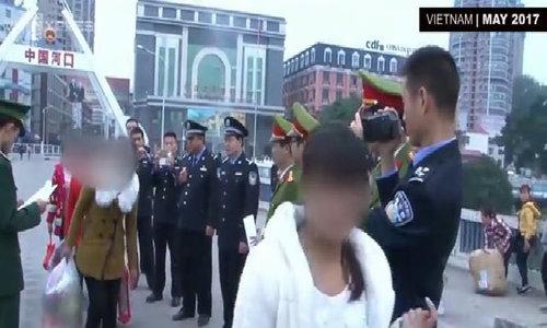 7 Vietnamese women trafficked to China return home