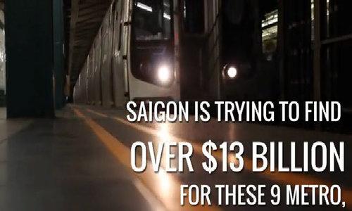 Train to the future: Here's a map of Saigon's ambitious metro network