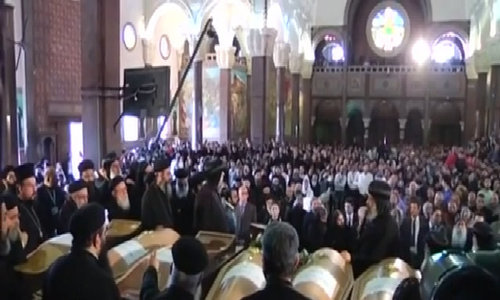 Gunmen attack Coptic Christians in Egypt
