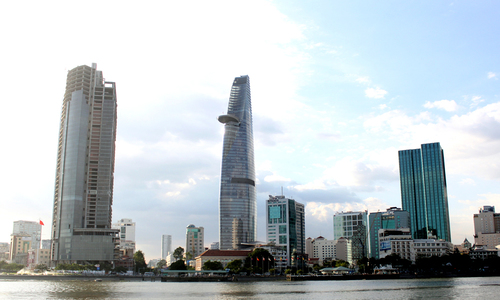The abandoned skyscraper of Saigon
