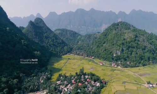 This video shows how calm and pristine Vietnam can be