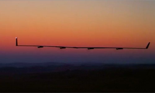 Facebook drone completes second test flight