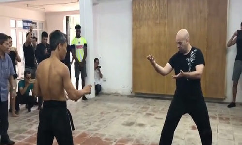 Montreal master who sets mission to regain martial arts' credibility has first fight in Vietnam