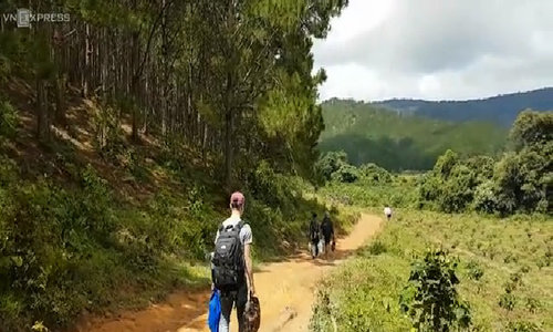 A trek through Ta Nang jungle in central Vietnam