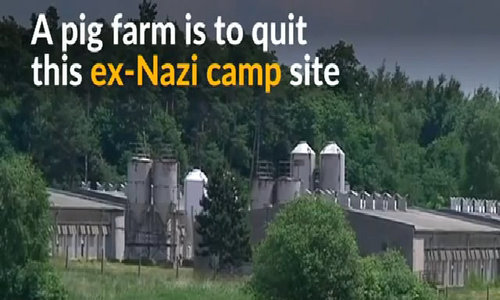 Czech pig farm at ex-Nazi camp site to close