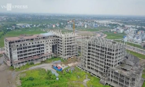 Million-dollar hospital project left to waste for years in Vietnam
