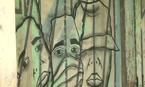 Cuban graffiti artists go up the walls in Havana