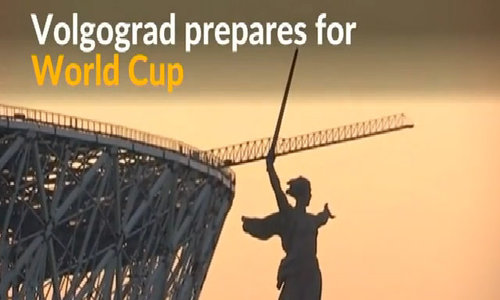 Volgograd shows off new stadium built for World Cup
