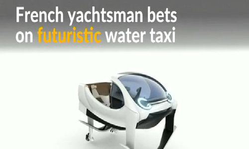 Gliding on rivers, SeaBubbles could be 'Uber of the water'
