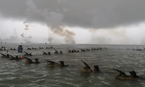 Vietnam conducts disaster drills off northern coast
