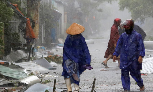Typhoon Doksuri: The damage so far in central Vietnam
