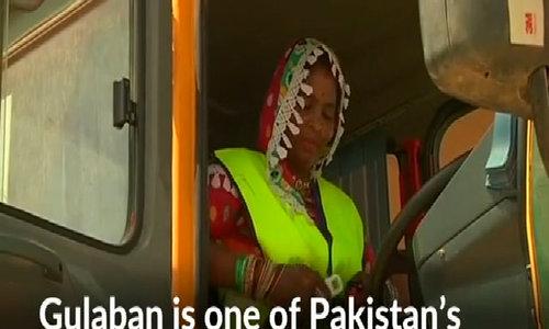 Pakistan's women truck drivers break cultural barriers