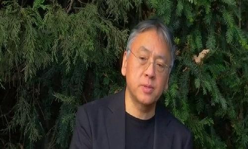 Kazuo Ishiguro takes Nobel Prize for Literature