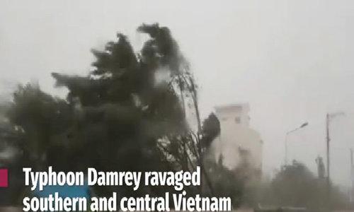 Typhoon Damrey: The damages so far