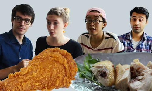 Vietnam's street food vs foreign fast food - Final round: Boiled vs fried chicken