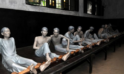 At Hoa Lo Prison, Hanoi's 'hell hole', time stands still in sorrow