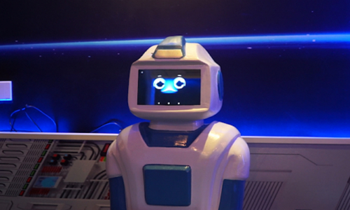 Take a look at the future of robotic waitressing in Vietnam