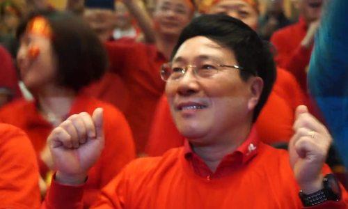 """Vietnam's Deputy PM cries """"Vietnam still wins"""", as Vietnam comes second"""