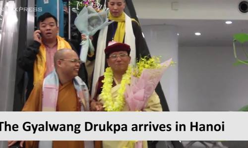 Gyalwang Drukpa returns to Vietnam for spring festival