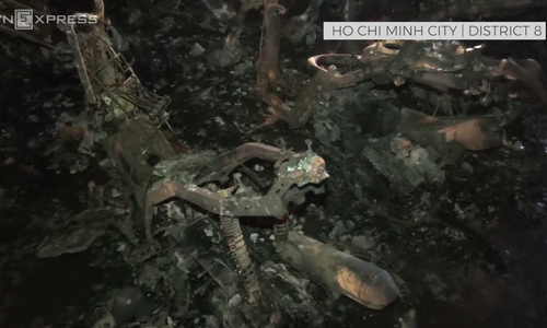 Inside the wreckage of Ho Chi Minh City's charred Carina Plaza