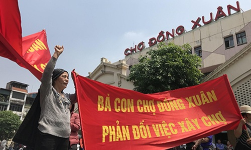 Rumor of historical Hanoi market being turned into shopping mall sparks outcry