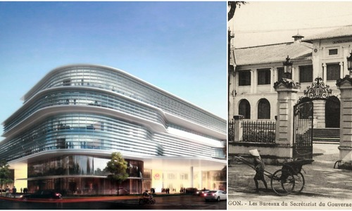 Take the first look at HCMC's future administrative center