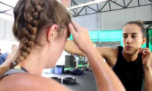 #Not me: Israeli self-defense class helps fight sexual harassment in Vietnam
