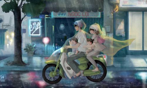 Rainy Saigon
