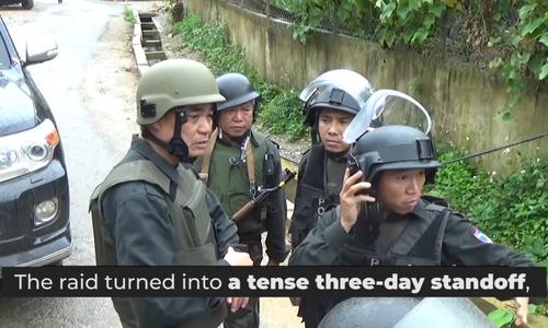 Vietnam police gun down drug lords in jungle hideouts