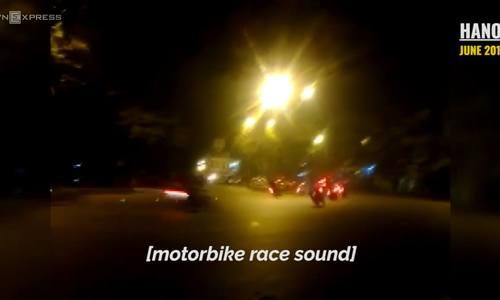 Midnight racers add to World Cup roars in Hanoi