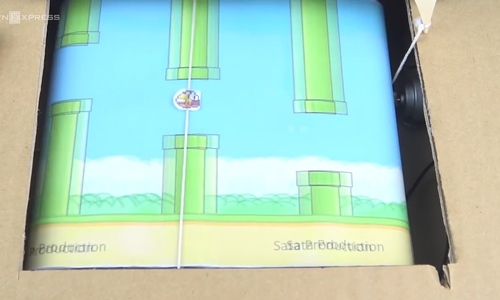 Vietnamese youth give extra wings to Flappy Bird
