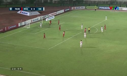 Vietnam vs. Myanmar: Goal ruled out for offside